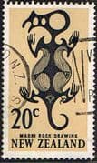 New Zealand 1967 SG 857 Taniwha Fine Used