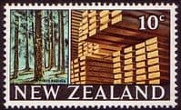 New Zealand 1967 SG 873 Forest and Timber Fine Mint