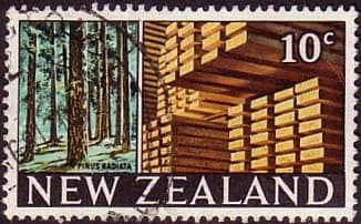 New Zealand 1967 SG 873 Forest and Timber Fine Used