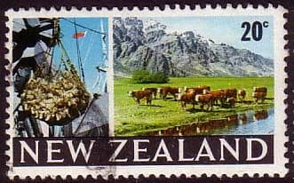 New Zealand 1967 SG 876 Beef Cattle Fine Used