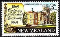 New Zealand 1969 SG 894 Law Society Fine Used