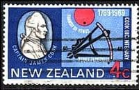 New Zealand 1969 SG 906 Cook Landing Fine Used