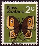 New Zealand 1970 SG 916 Butterfly Fine Used
