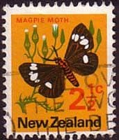 New Zealand 1970 SG 917 Butterfly Fine Used