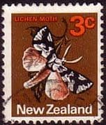 New Zealand 1970 SG 918 Butterfly Fine Used