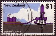 New Zealand 1970 SG 933 Geothermal Power Fine Used