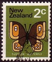 New Zealand 1973 SG1009 Butterfly Fine Used