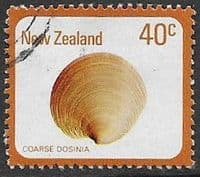New Zealand 1975 Sea Shells SG 1101 Fine Used
