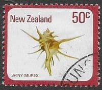 New Zealand 1975 Sea Shells SG 1102 Fine Used
