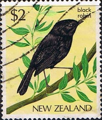 Stamps of New Zealand 1982 Birds Black Robin SG1293 Fine Used
