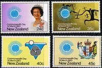 New Zealand 1983 Commonwealth Day Set Fine Mint