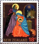 New Zealand 1985 Christmas SG 1376 Fine Used