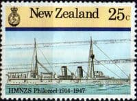 New Zealand 1985 Naval History SG 1375 Fine Used
