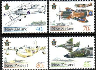 New Zealand 1987 Royal Air Force Set Fine Mint