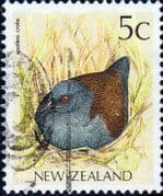 New Zealand 1988 Native Birds SG 1459a Fine Used
