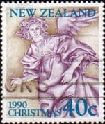 New Zealand 1990 Christmas SG 1569 Fine Used