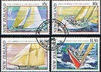 New Zealand 1992 Challenge for America's Cup Set Fine Used