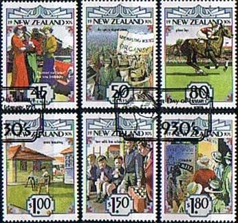 New Zealand 1993 Emerging Years the 1930s Set Fine Used