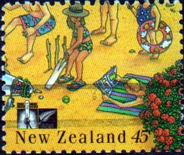 New Zealand 1994 Cricket Council SG 1842 Fine Used