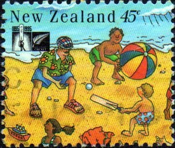 New Zealand 1994 Cricket Council SG 1843 Fine Used