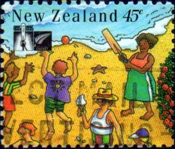 New Zealand 1994 Cricket Council SG 1844 Fine Used