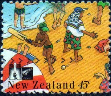 New Zealand 1994 Cricket Council SG 1845 Fine Used
