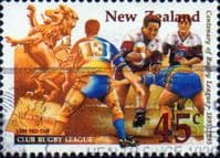 New Zealand 1995 Rugby League SG 1889 Fine Used