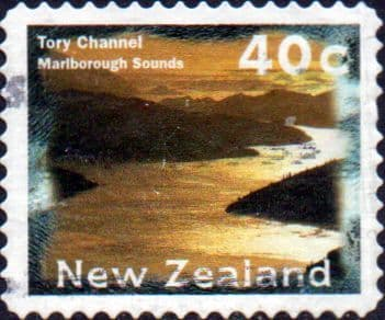 New Zealand 1996 Tory Channel SG 1986b Fine Used