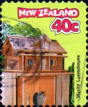 New Zealand 1997 Curious Letterboxes SG 2064 Fine Used