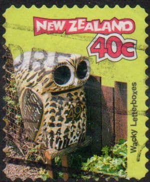 New Zealand 1997 Curious Letterboxes SG 2065 Fine Used
