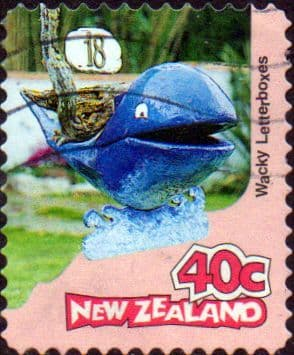 New Zealand 1997 Curious Letterboxes SG 2066 Fine Used