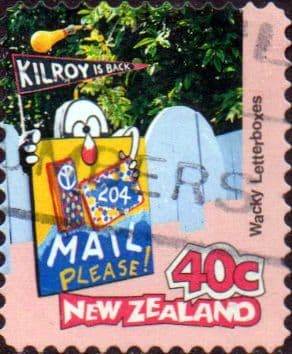 New Zealand 1997 Curious Letterboxes SG 2067 Fine Used