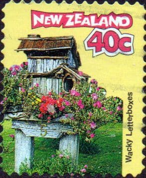 New Zealand 1997 Curious Letterboxes SG 2068 Fine Used