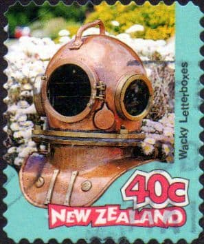 New Zealand 1997 Curious Letterboxes SG 2070 Fine Used