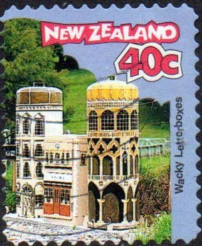 New Zealand 1997 Curious Letterboxes SG 2073 Fine Used