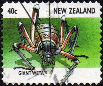 New Zealand 1997 Insects SG 2106 Fine Used