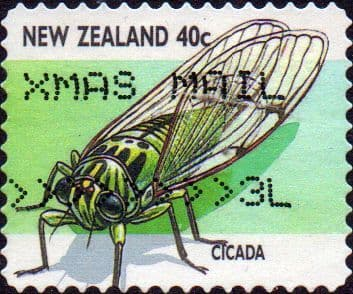 New Zealand 1997 Insects SG 2109 Fine Used
