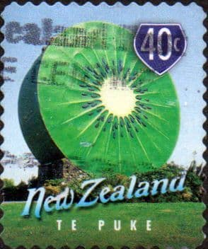 New Zealand 1998 Town Icons SG 2203 Fine Used