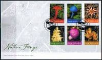 New Zealand 2002 Fungi Set on First Day of Issue Cover