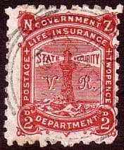 New Zealand Back of Book Stamps Insurance Fiscal and Officials