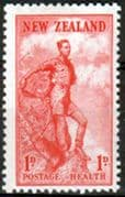 New Zealand Health 1937 Climber Fine Mint