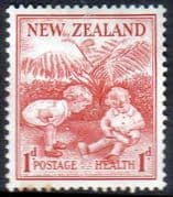 New Zealand Health 1938 Children Fine Mint