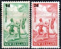 New Zealand Health 1939 Beachball Set Fine Mint