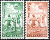 New Zealand Health 1940 Beachball Set Fine Mint