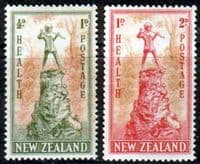 New Zealand Health 1945 Peter Pan Set Fine Mint