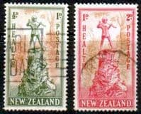 New Zealand Health 1945 Peter Pan Set Fine Used