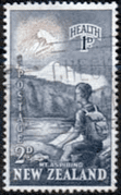 New Zealand Health 1954 Young Climber SG Fine Used