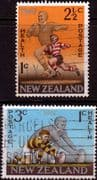 New Zealand Health 1967 Rugby Set Fine Used