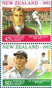 New Zealand Health 1992 Sportsmen Health Set Fine Mint