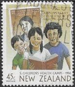 New Zealand Health 1994 75th Anniversary of Children's Health Camps SG 1815 Fine Used